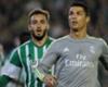 Ronaldo agredió a Molinero, según el defensa del Betis