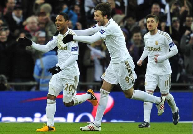 Menang Telak, Swansea City Juara Piala Liga