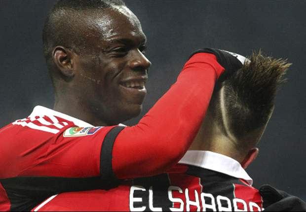 El Shaarawy: No problem playing with Balotelli