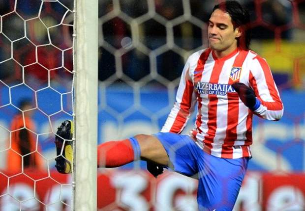 Falcao: Atletico Madrid want to lift Copa del Rey at Bernabeu