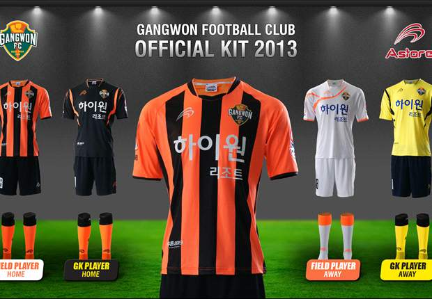 강원 FC, 새 유니폼 발표... '투혼 2013'