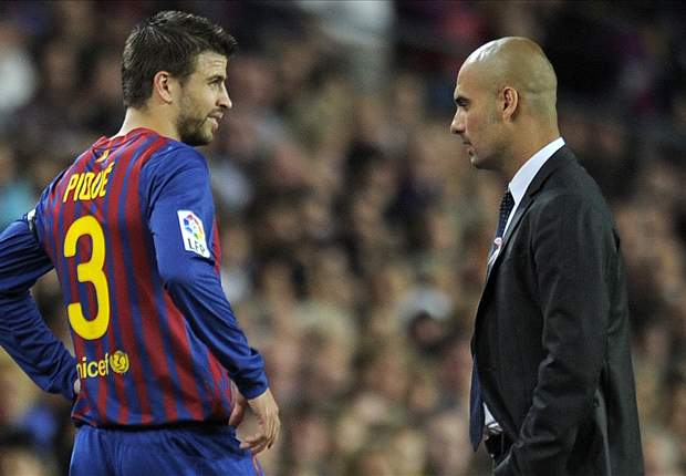 Pique revels in Guardiola success over Mourinho