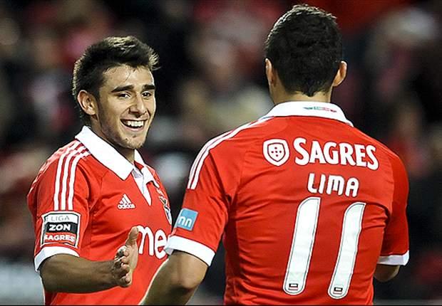 Benfica con uno de Salvio sigue derecho al título