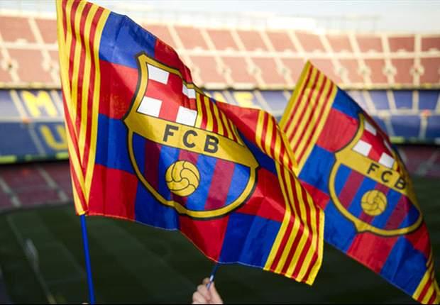 90.000 banderitas para asustar al Real Madrid en el Camp Nou