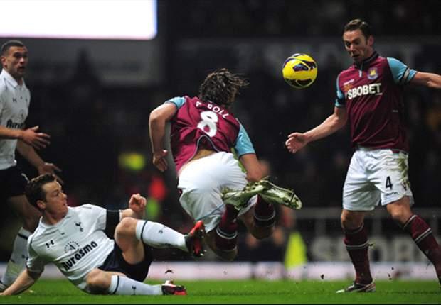 Boos from West Ham crowd upset me, says Tottenham midfielder Parker