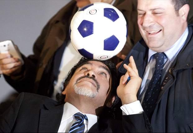 Diego Maradona Pamerkan Tango Football Di Empat Kota