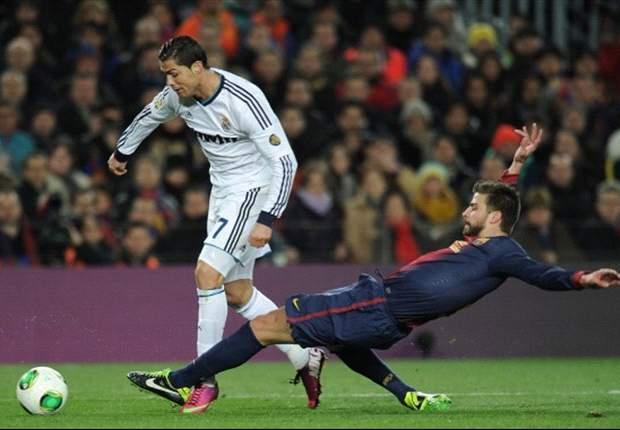 Barcelona 1-3 Real Madrid: Undiano acertó en el penalti de Piqué a Ronaldo