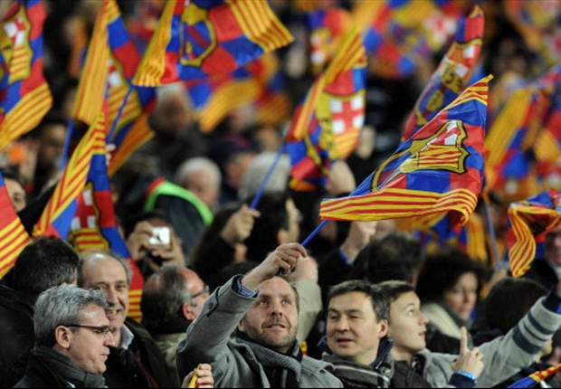 Real Madrid fans not at fault for flare, say Barca officials
