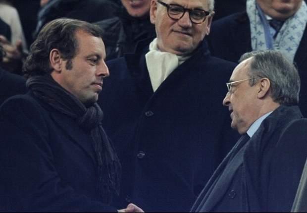 Sandro Rosell: Hubo penaltis que no se pitaron