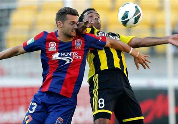 Wellington Phoenix 1-2 Newcastle Jets: Jets end NZ hoodoo