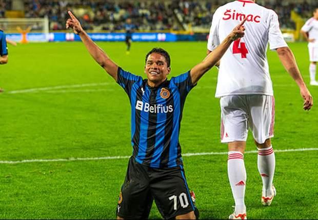 Carlos Bacca es el delantero más efectivo de la historia del Brujas