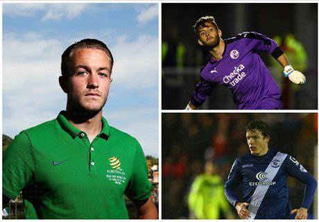 Perth Glory sign Adam Taggart