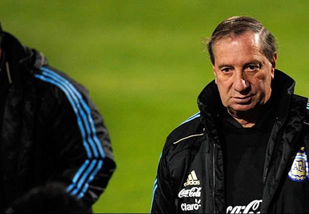 El extécnico de la Selección habló de la continuidad de Sabella.