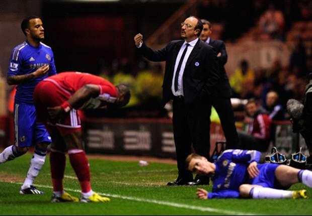 ANG, Chelsea - Benitez : « Je pars en fin de saison »