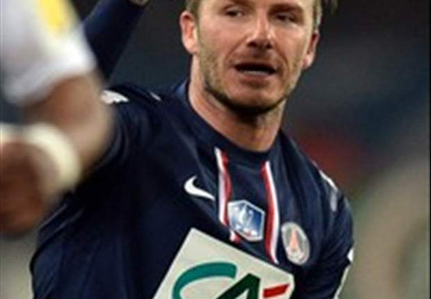 Beckham: I feel at home at Paris Saint-Germain
