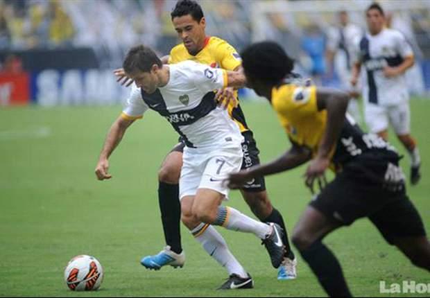 Barcelona (EQU) 1x2 Boca Jrs: Atual vice-campeão consegue sua primeira vitória nesta Libertadores