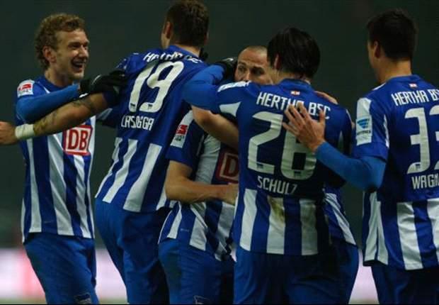 Hertha BSC hat sein erstes Testspeil gewonnen.
