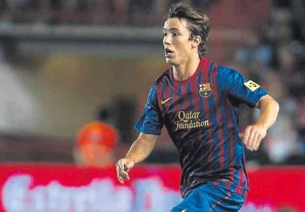 Alejandro Grimaldo, del Barcelona B, será operado este viernes