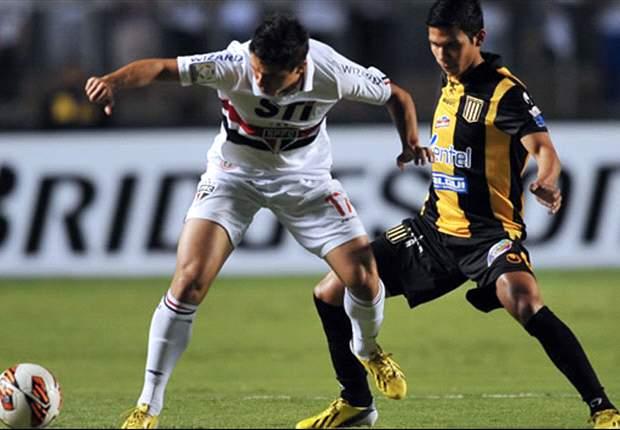 São Paulo 2 x 1 The Strongest: Bolivianos dificultam, mas tricolor consegue virar e vencer no Morumbi