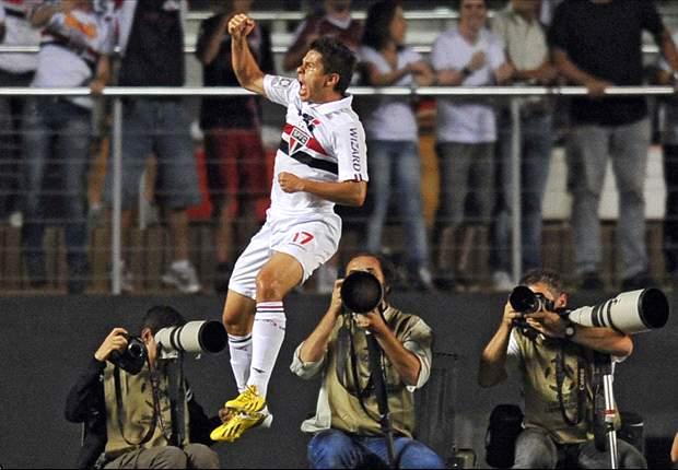 Osvaldo: a primeira chance na Seleção Brasileira