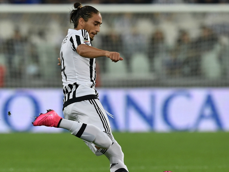 Mercato, Caceres testé par l'Inter Milan