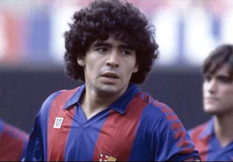 De Maradona a Yerry Mina: latinos en el Barça