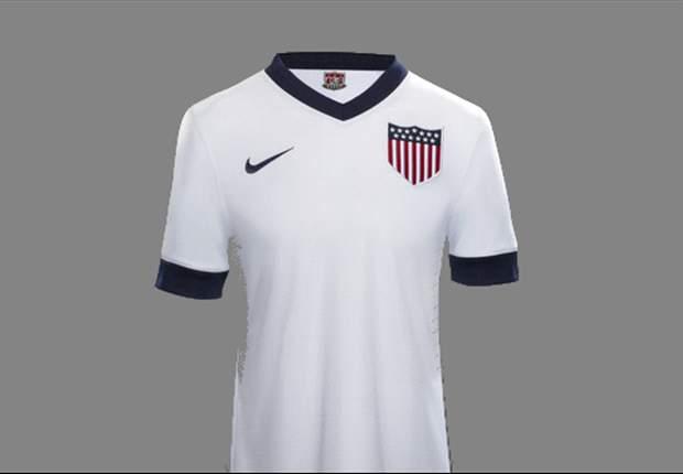 Fútbol A La Moda: Con esta camiseta enfrentaría Estados Unidos a México