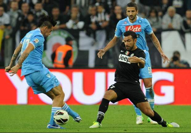 Napoli 1-1 Juventus: Scudetto showdown ends all-square
