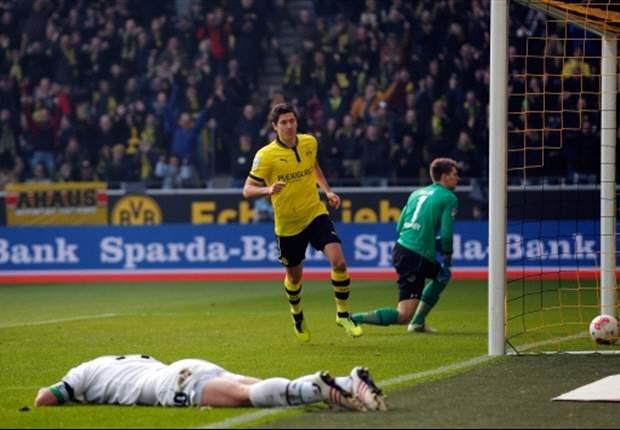 Borussia Dortmund siegt gegen Hannover 96: Lewandowski erzielt Doppelpack