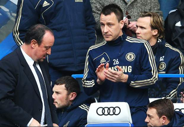 Terry backs Benitez's Chelsea rotation policy despite lack of games