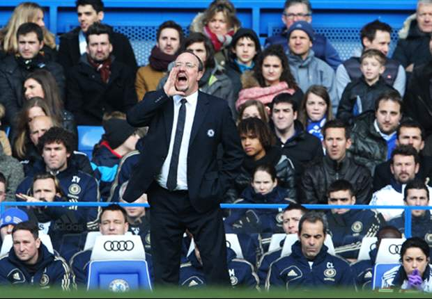 Benitez open to job with 'top side' in England after Chelsea exit