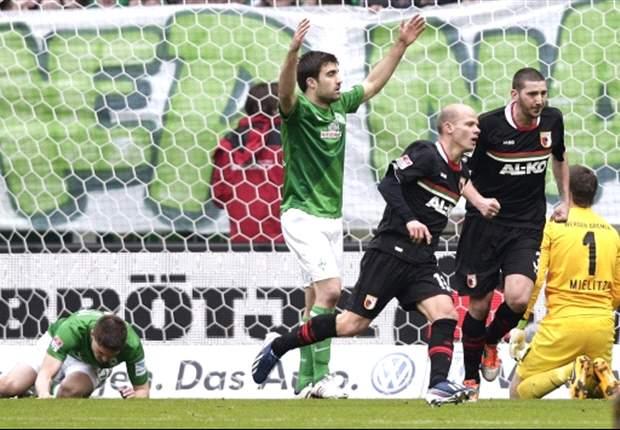 Überraschung in Bremen: Werder Bremen unterliegt dem FC Augsburg mit 0:1!