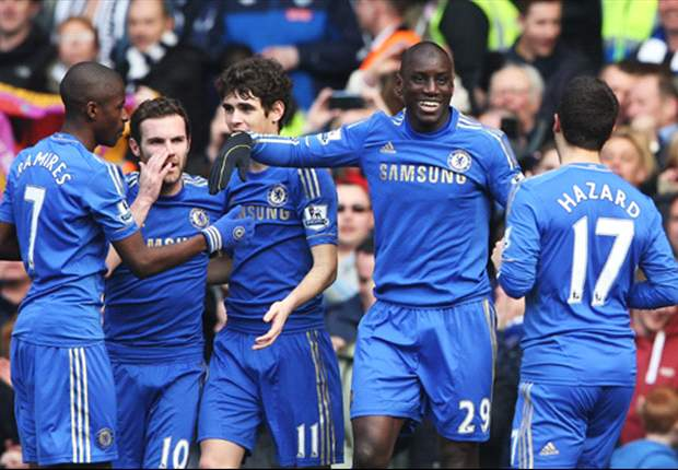 Chelsea 1-0 West Brom: Ba downs Baggies to quiet Benitez boo boys