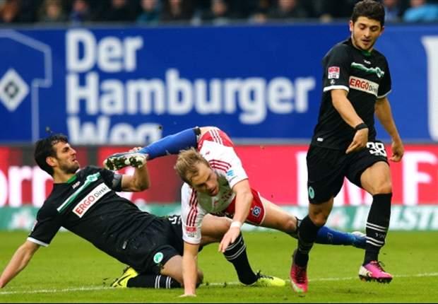 Die SpVgg Greuther Fürth trotzt dem Hamburger SV ein 1:1 ab