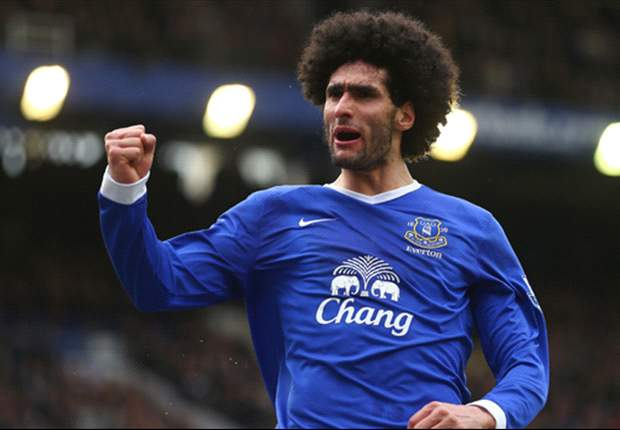 Fellaini 'happy' at Everton despite Manchester United talk