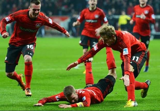 Dramatis, Bayer Leverkusen Taklukkan Stuttgart