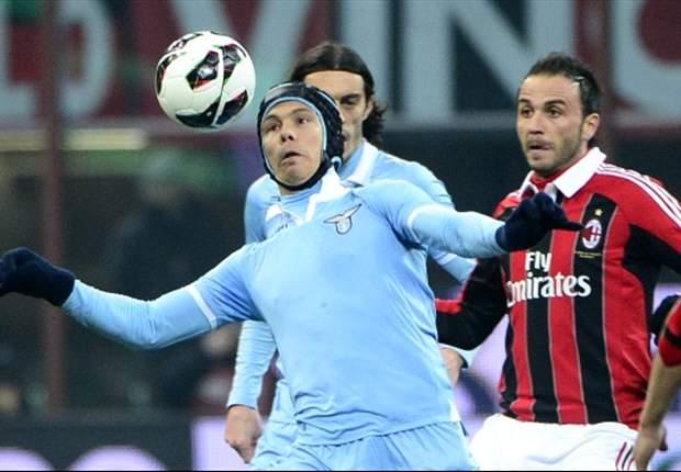 AC Milan Sikat Sepuluh Pemain Lazio