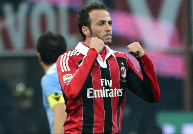 Milan 3 x 0 Lazio: Com grande atuação de Pazzini, rossoneros assumem terceiro lugar