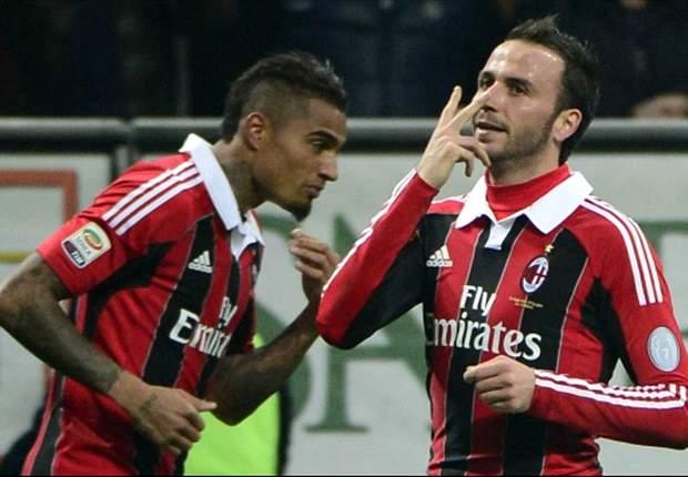 Milan schlägt Lazio in Überzahl 3:0