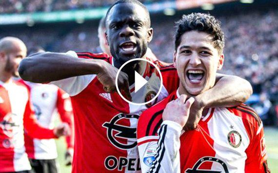 OUTRAGEOUS Feyenoord overhead kick