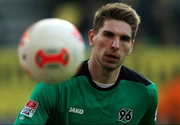 In Hannover läuft es nicht, in der DFB-Elf vorerst außen vor: Ron-Robert Zieler