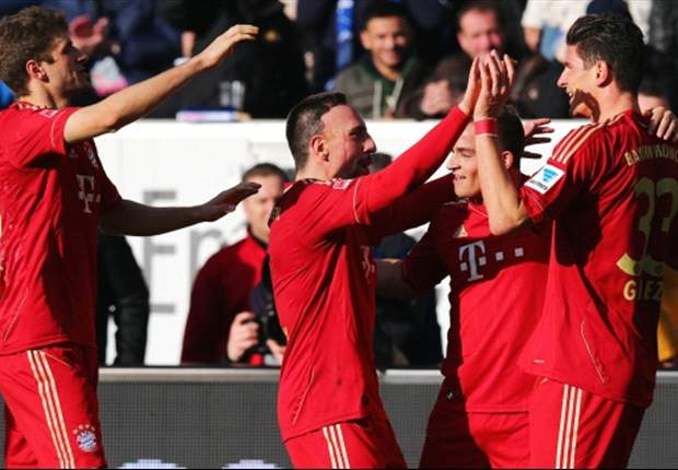 Hoffenheim 0-1 Bayern Munich: Gomez goal enough for Bavarians to maintain league lead