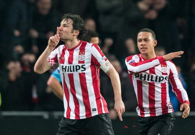 Eredivisie Round 25 Results: PSV stay top while Ajax beat Twente