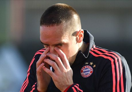 Court rules against Ribery's 'scum' case