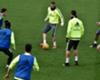 Benzema se entrena tras declarar en el 'caso Valbuena'