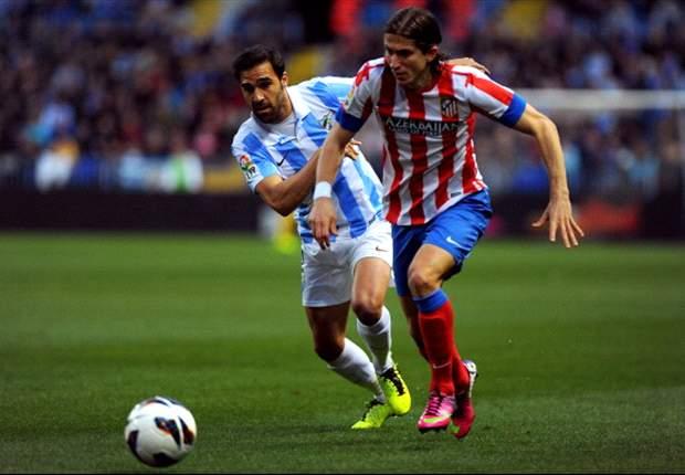 Filipe Luis le pide por Twitter a Diego que vuelva al Atlético