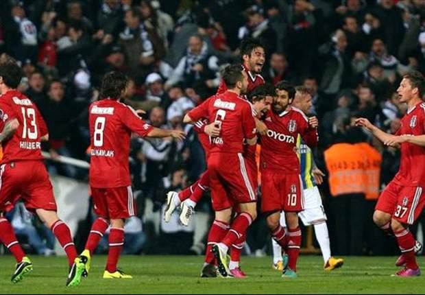 Besiktas Istanbul besiegte Fenerbahce Istanbul in einem mitreißenden Spiel mit 3:2