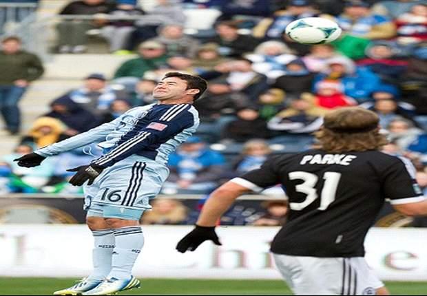 MLS: Argentino Bieler debuta con gol y regalo de sus compañeros
