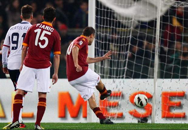 Totti mantiene intacta la ilusión de la Roma