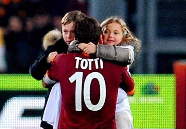 Totti targets Champions League